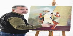 Kıbrıs'ta Bir Azeri Ressam