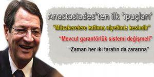 Güney Kıbrısın yeni liderinden  ilk röportaj