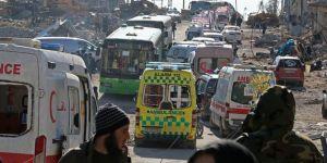 Halep'in doğusundan tahliye başladı