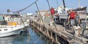 Liman'da temizlik kampanyası