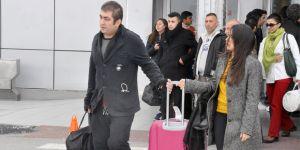 Ercan'da yılbaşı hareketliliği!