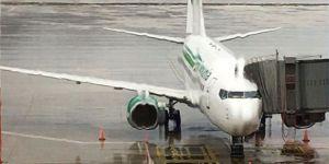 Antalya'ya giden Alman takımının uçağına yıldırım çarptı