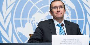 Eide, BM Güvenlik Konseyi'ni bilgilendirecek