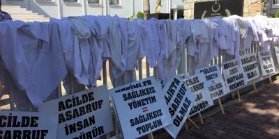 """TIP-İŞ'ten """"Hekim istifaları bilançosu"""""""