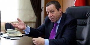 """Maliye Bakanı Serdar Denktaş """"güneyi"""" suçladı"""
