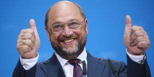 Martin Schulz'dan KTÖS'e destek