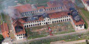 Cezaevi isyanında 152 mahkum firar etti