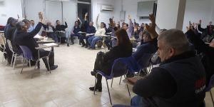 KTEZO Başkanı oybirliğiyle yeniden Mahmut Kanber seçildi