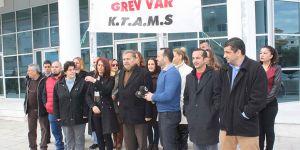 KTAMS, süresiz grev başlattı