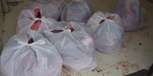 268 Kilo  mühürsüz ete yasal işlem