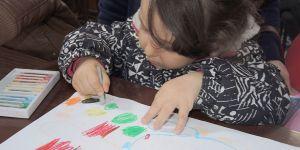 Çocuklar yaşadıkları kent Girne'yi çizdi…