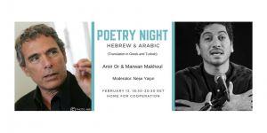 """Dayanışma Evi """"İbranice ve Arapça şiir gecesi"""" düzenliyor"""