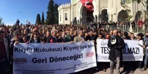 """[Türkiye'de] """"48 Üniversiteden 330 Akademisyen Kamu Görevinden Çıkarıldı*"""