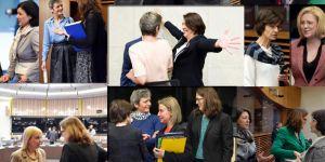 Avrupalı kadınlardan ortak mesaj