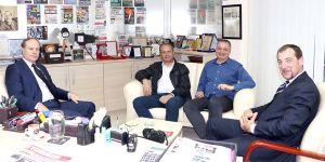 Fransa Büyükelçisi'nden United Medya'ya ziyaret