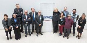 Kıbrıslı Gazeteciler Viyana'da 'basın özgürlüğü ve işbirliğini' tartıştı