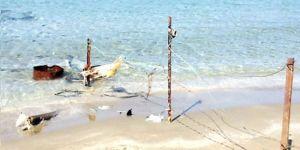 'Mağusa sahilleri savaş koşullarını yaşıyor'