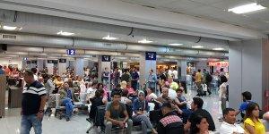Uçuş ekibi ve yolcular Ercan'a ulaşamadı