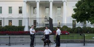 Beyaz Saray girişinde bomba paniği