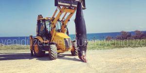 Dev yunus  Çatalköy'de sahile vurdu!