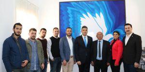 CHP heyeti TDP'ye ziyaret gerçekleştirdi