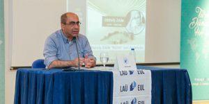 Derviş Zaim, LAÜ'lü öğrencilerle buluştu