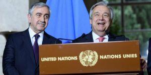 Gözler Akıncı - Guterres görüşmesinde