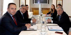 Akıncı- Guterres görüşmesi