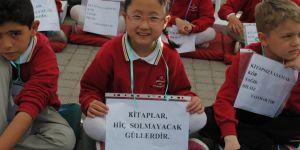 Okuma şenliğine 200 çocuk katıldı