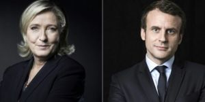 Macron ve Le Pen 2. tura kaldı