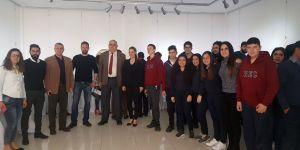 YDK Coğrafya Kulübü, YDÜ'de sergiye katıldı
