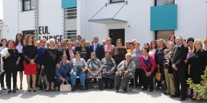LAÜ bölge yaşlılarını yeni tesisinde misafir etti