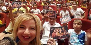 Çocukların tiyatro sevinci devam ediyor