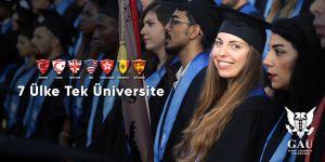 GAÜ'de mezuniyet coşkusu