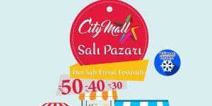 City Mall 'Salı Pazarı' başlıyor