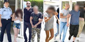 'Kirpi Operasyonu' zanlıları 4'er gün daha tutuklu