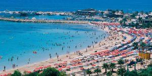 Kıbrıs'ın güneyine olağanüstü turist akını