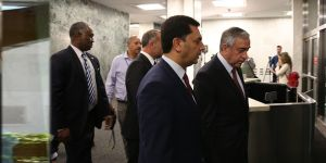 Müzakere heyeti Ankara'da