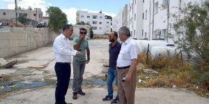 Hamitköy Cemsa Evleri'nde kanalizasyon sorunu çözülüyor