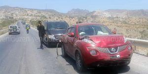 Değirmenlik-Girne dağ yolunda kaza!