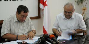 Özelden hizmet alımı için protokol imzalandı