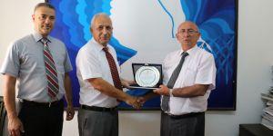 Özyiğit, Kıbrıs Türk Kızılay Derneği yetkililerini kabul etti