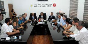 Cengiz Topel Hastanesi'ne ek bina yapımı için ilk adım