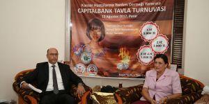 Capitalbank'dan tavla turnuvası