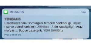 Toplu SMS mi  toplu 'linç' mi?