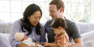 Facebook'un kurucusuZuckerberg, ikinci kez baba oldu