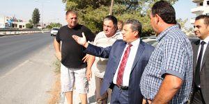 Demirhan'daki yol sorunu için girişim başlatıldı