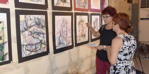 Heidi'nin resimleri sanatseverler ile buluştu