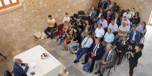 Güngördü, 16'ncı Zeytin Festivali için kente gelen misafirleri kabul etti
