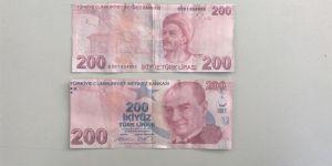 SAHTE 200TL BANKNOTLARA DİKKAT